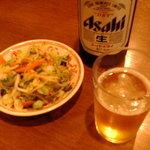 中川千寿 - お通しの茹で野菜