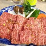 焼肉いつものところ - 佐賀県伊万里牛最高ランクの特選カルビ