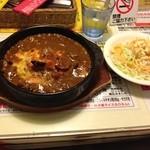 メルス - 焼きカレー(サラダ付き)