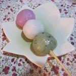 もみじ庵 - 三色団子