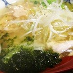 胃袋掴味 Stomach Hold - 鶏塩ラーメン(アップ)