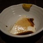 魚料理 ろっこん - 自家製豆腐です