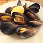 キアッキェローネ - ムール貝の胡椒蒸し