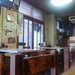 徳仙  - 店内テーブル席