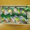 鯵寿司や一功 - 料理写真:鯵寿司8貫¥892