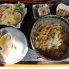 吉川本陣 - 料理写真:天ぷらそば定食