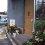 cafe nagisa - かわいい外観です。