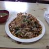 たちばな - 料理写真:本日のサービスメニュー揚げ豚あんかけ飯850円