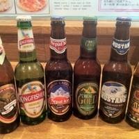 インド&ネパールレストラン&バー サグン - 各国のビールも取り揃えております!