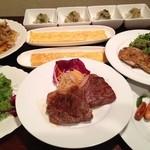 プティーヌ - 宴会プラン「お肉大好きコース」¥2000