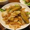 鍋家 - 料理写真:花烏賊と茄子の炒め