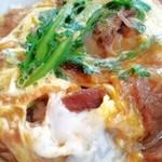 今朝 - 「すき焼き丼」1,575円