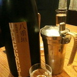 播州地酒と全国銘酒、肴 ひの - 八重垣 特別純米