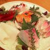 華暦 - 料理写真:刺身の盛り合わせ(1.5人前)