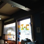 レストラン コーエイ - まさに喫茶店といった趣。