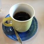レストラン コーエイ - コーヒーがついてきます。
