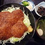 味ごよみ吉野 - ソースかつ丼(ヒレ)