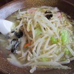 らーめん 岩本屋 - 鶏塩タンメン