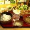華のれん - 料理写真:豚バラ生姜焼き定食☆日替わり☆780円(2012/10)