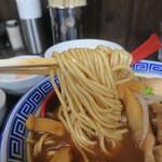 中華そば JAC - 麺はストレートの細麺