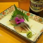 甲州屋酒場 - 料理写真:2012.10 しめさば(530円)