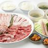 カルビ家族 - 料理写真:わいわい家族皿とご飯セット家族にもやさしいお値段です