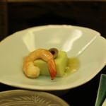 テラスラウンジシエル - 季節の葛豆腐