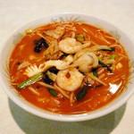 ヤンヤン - 新メニュー登場。辛口海鮮チャンポン★もちもちの食感とスープの美味しさを味わって下さい