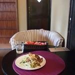 チーズケーキプリンセス岡崎カフェ - サラダ