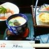 すしの店大学西店 - 料理写真:ランチの茶碗蒸し・サラダ・3点盛り