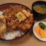富士 - 小柱かき揚げ天丼