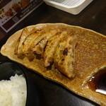麺場 中山魂 - 餃子+半ライス