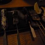 魚串 ねぶと屋 - 魚くし 5本 580円