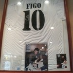 Las Nomadas - FIGOのサイン入り
