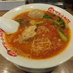 太陽のトマト麺 - 太陽のラーメン700円味玉サービス!