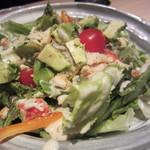 銀波 - たらば蟹とアボカドのサラダ(\950-)
