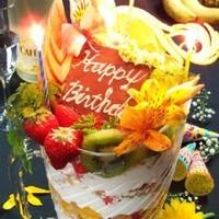 お誕生日も、記念日も大大大歓迎!大好評のピッチャーパフェ♪♪