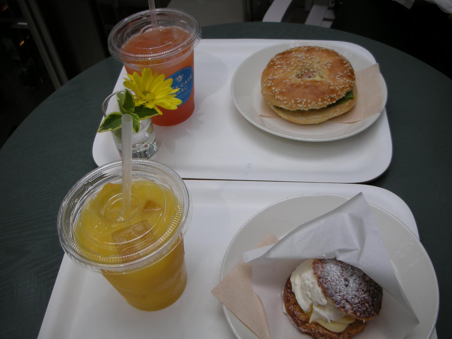 IDEE CAFE PARC �����~�b�h�^�E���X