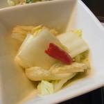 ビトレス - 白菜の中華風甘酢マリネ