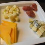 ビトレス - チーズの3種盛り合わせ