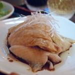 シンガポール料理 梁亜楼 - 鶏アップ