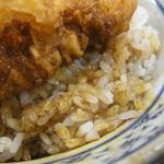 天婦羅 多から家 - かき揚げ天丼