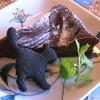 からんころん茶屋 - 料理写真:ショコラ+黒猫クッキー(450円)