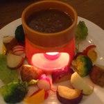 15420175 - 料理名忘れた・・・アンチョビソースがすごく美味しい
