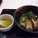 麺食堂とまと - 汁なしラーメン
