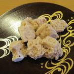 三友居 - さざれ石というお菓子。お茶うけに良しです。
