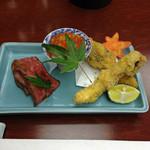 岡半 - 前菜
