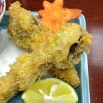 岡半 - 前菜(松茸)