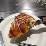 広島風お好み焼 あす香 - とん平焼き アップ