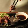 極味や - 料理写真:お客様のお手元で赤身を焼きながら召し上がっていただきます。